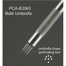 PCA outil de perforation parapluie bold 7 pointes épais