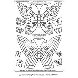 Template PCA gabarit traçage papillon