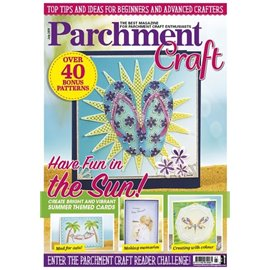 Parchment Craft magazine Pergamano juillet 2019 Have Fun in the Sun