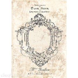 Transfert pelliculable Redesign Prima marketing décor Antique Imprint