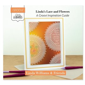 Livre Groovi inspiration guide lace and flowers Linda Williams