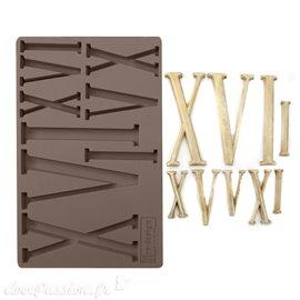Moule Prima ReDesign en silicone flexible Numerals
