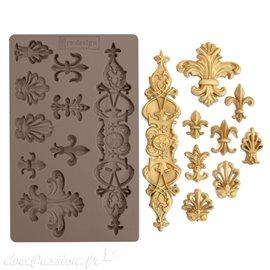 Moule Prima ReDesign en silicone flexible Fleur De Lis