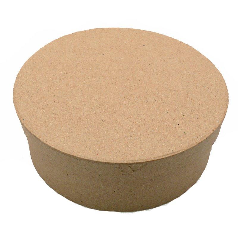 Loisirs cr atifs objet brut boite en carton en carton ronde for Boite ronde a decorer
