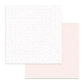 Papier scrapbooking réversible Stamperia coeurs de papier 30x30