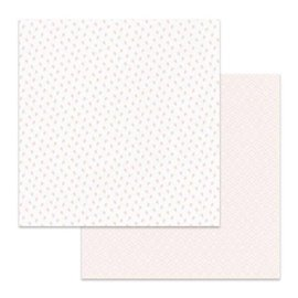 Papier scrapbooking réversible Stamperia bourgeons double face 30x30