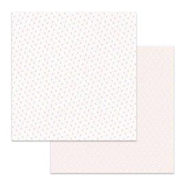 Papier scrapbooking réversible Stamperia bourgeons double face 30x30