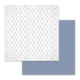 Papier scrapbooking réversible Stamperia branches 30x30
