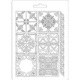 Moule souple soft mould Stamperia fin pour modelage azulejos