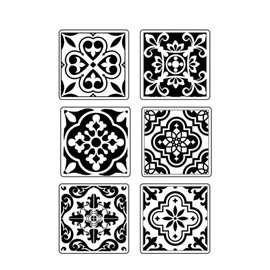 Moule décoratif thermoformé Stamperia azulejos stampo