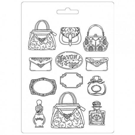 Moule décoratif thermoformé Stamperia parfumerie stampo