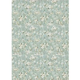 Papier de riz Stamperia 21x29,7cm fleurs jasmin