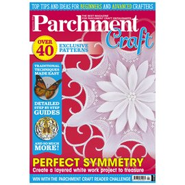Parchment Craft magazine Pergamano septembre 2019 Perfect Symmetry