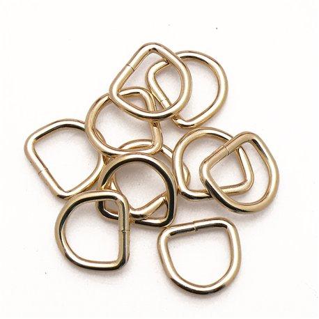Attaches anneaux dés étriers chapés soudés D12 pour cartons x10
