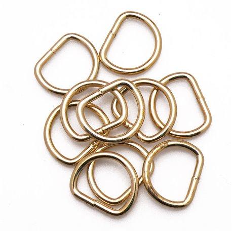 Attaches anneaux dés étriers chapés soudés D14 pour cartons x10