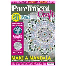 Parchment Craft magazine Pergamano octobre 2019 Make a Mandala