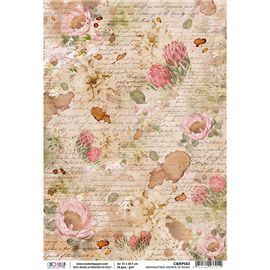 Papier de riz source inepuisbale de magie 22x32cm Ciao Bella
