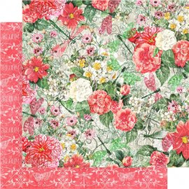 Papier scrapbooking réversible Graphic 45 glorious 30x30