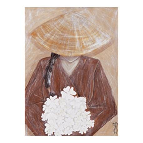 Carte postale le bouquet de fleurs
