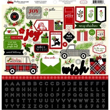 Etiquettes Tag carta Bella Noël