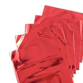 Foil Transfert métalissé pour scrapbooking Rouge