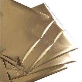 Foil Transfert métalissé pour scrapbooking Doré