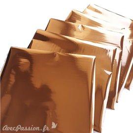 Foil Transfert métalissé pour scrapbooking Cuivre