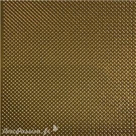 Sticker peel off adhésif bordures chaîne doré