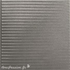 Sticker peel off adhésif bordures argent