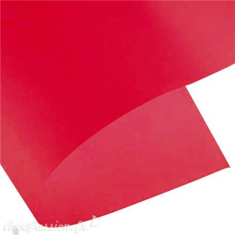Papier calque rouge vermillon 200gr