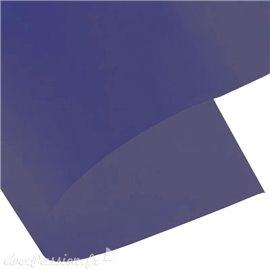 Papier calque bleu indigo