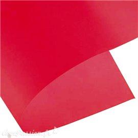 Papier calque rouge vermillon