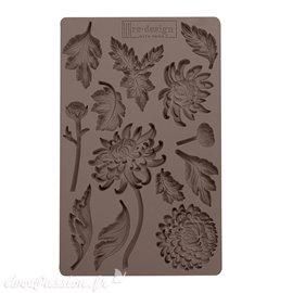 Moule Prima ReDesign en silicone flexible Botanist Floral