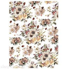 Transfert pelliculable Redesign Prima marketing décor Sunflower Frams