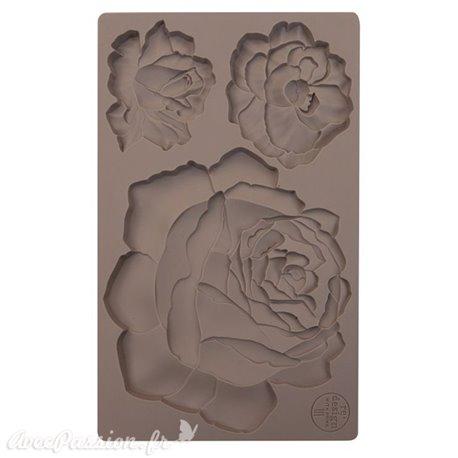 Moule Prima ReDesign en silicone flexible Etruscan Rose
