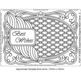 Template PCA gabarit traçage motifs diagonal frame 2