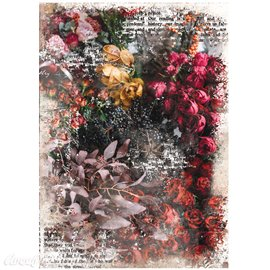 Papier de murier mulberry imprimé Redesign 50x70cm Iva