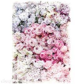 Papier de murier mulberry imprimé Redesign 50x70cm Esmée