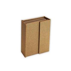 Scrapbooking Cardboard rectangulaire 9.5x13.5x4 4p