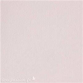 Papier scrapbooking uni Papicolor 30x30cm Rose Pâle