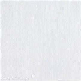 Papier scrapbooking uni Papicolor 30x30cm Blanc Neige