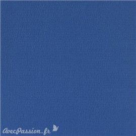 Papier scrapbooking uni Papicolor 30x30cm Bleu Iris