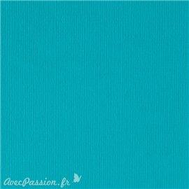Papier scrapbooking uni Papicolor 30x30cm Turquoise