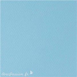 Papier scrapbooking uni Papicolor 30x30cm Bleu Claire