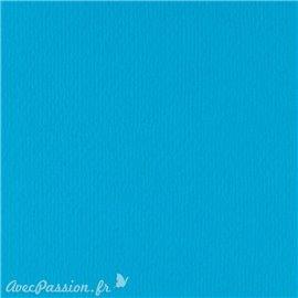 Papier scrapbooking uni Papicolor 30x30cm Bleu Ciel