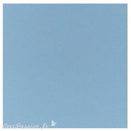 Papier scrapbooking uni Papicolor 30x30cm Light Blue