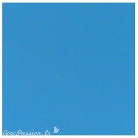 Papier scrapbooking uni Papicolor 30x30cm Corn Blue