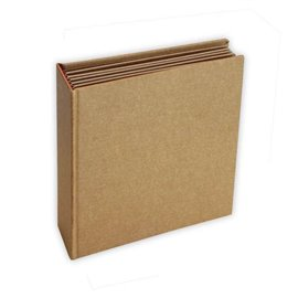 Scrapbooking Cardboard carré 20x20x5