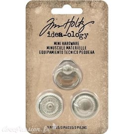 Embellissements métal Tim Holtz Mini Hardware 3pcs