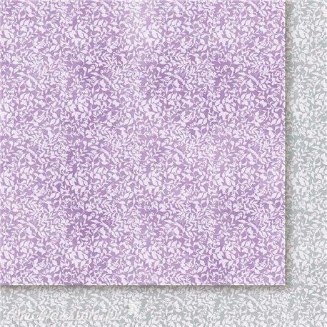 Papier scrapbooking  1 décor 2 couleurs
